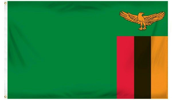 Zambia Flag | Country Flags | Zambia flag, Flags of the