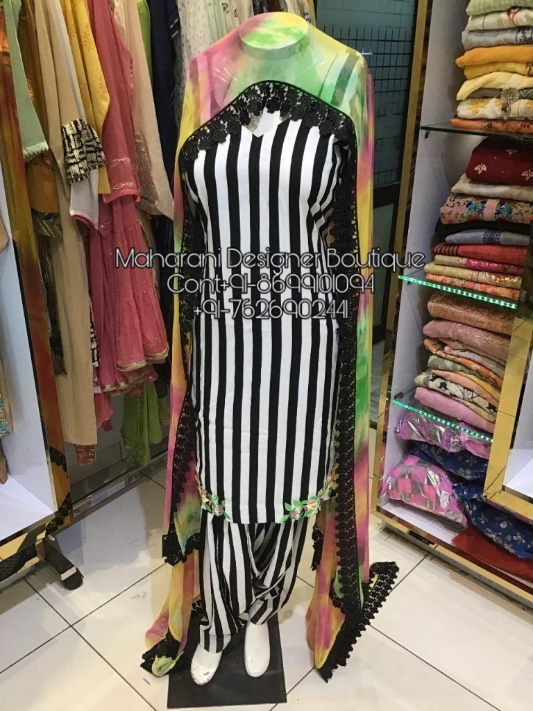 Punjabi Suits Design For Wedding   Maharani Designer Boutique