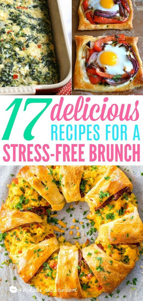 17 Easy Brunch Recipes Perfect for Entertaining this Weekend images
