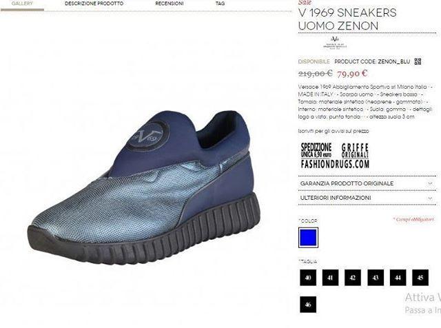 Pin On Versace Sneaker Uomo Man