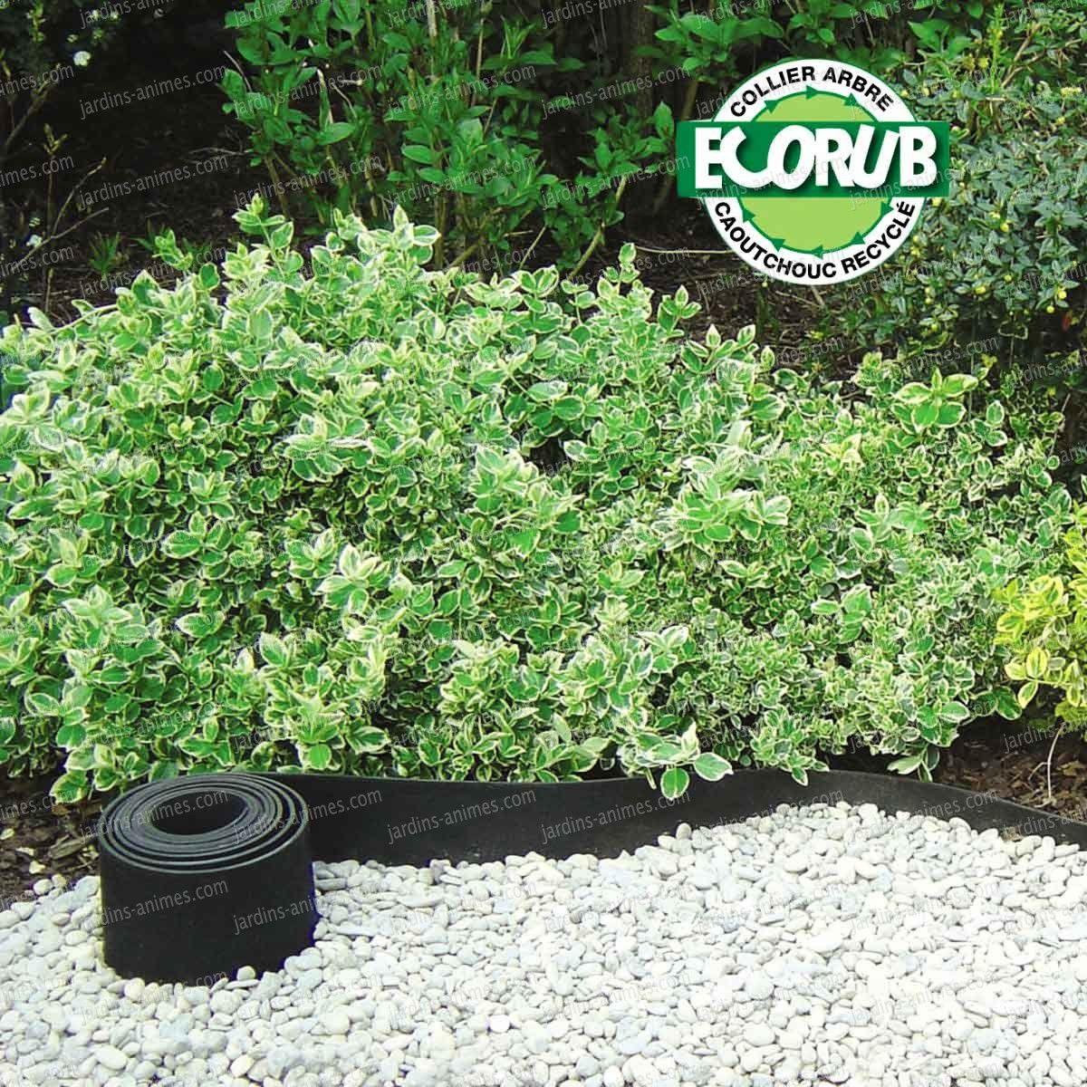 Bordure caoutchouc recyclé Gazon 5mx13cm   Gardens