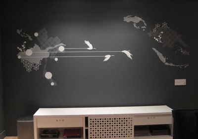 pintura artística em parede - Pesquisa Google