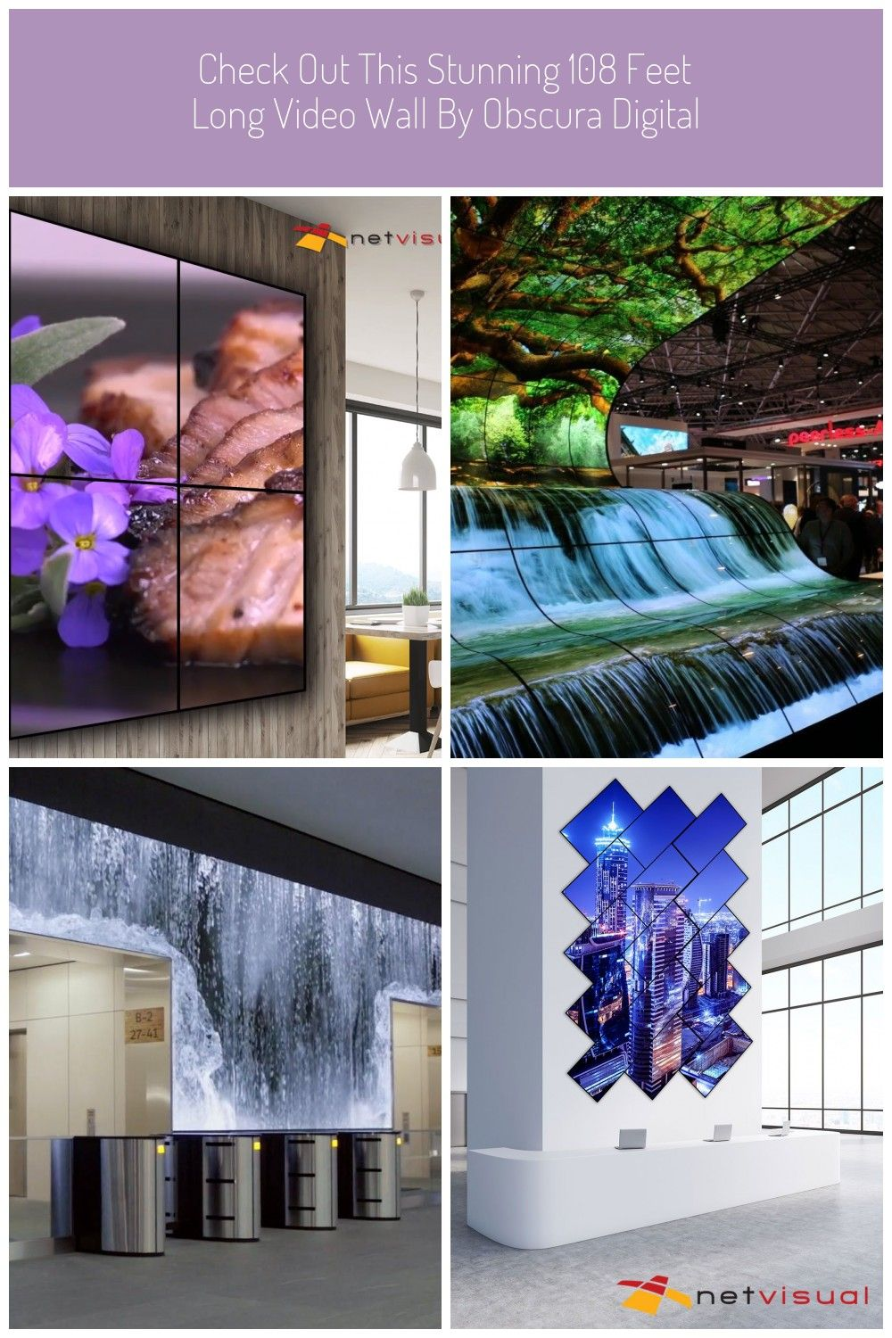 Enhance your restaurant s ambiance with netvisual s