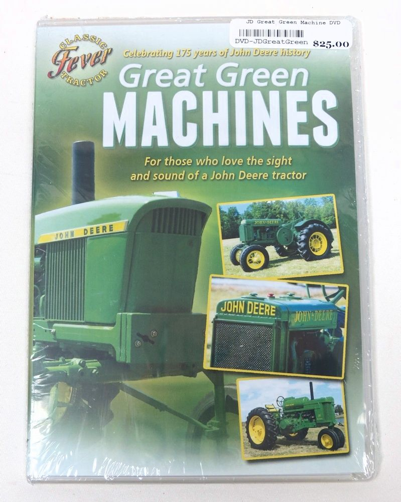 John Deere Great Green Machine DVD by Classic Tractor Fever