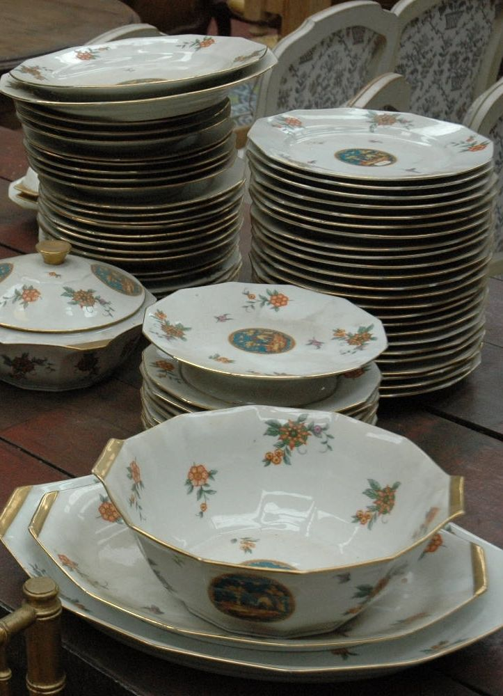 Vintage Limoges dinner set & Vintage Limoges dinner set | Dinner Ware u0026 Accessories | Pinterest ...