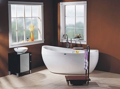 free standing jetted soaking tub. LineaAqua Dulce Jetted Freestanding Whirlpool Bath Tub With Champagne  Bubble Jets