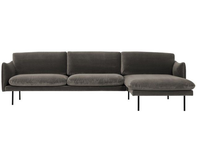 Samt Ecksofa Moby Couch Furniture Decor