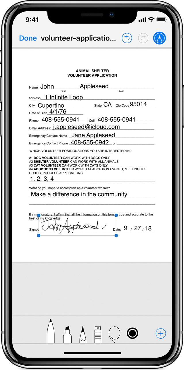 Use Markup on your iPhone, iPad, or iPod touch Apple