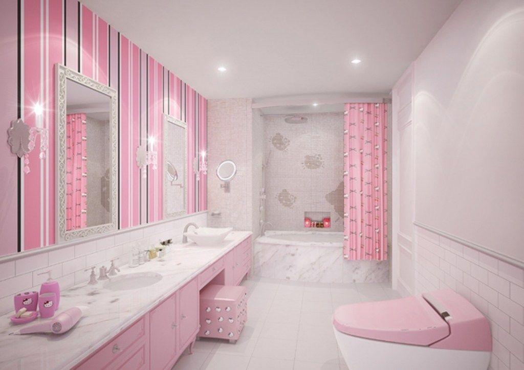 46 Awesome Dazzling Kids Bathroom Design Ideas 2019 Pouted Com Girl Bathrooms Kids Bathroom Design Bathroom Design