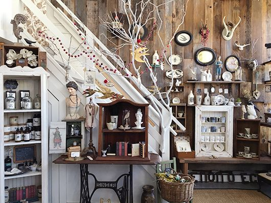 jewelry and vintage decor inside alix bluh\'s san francisco store ...
