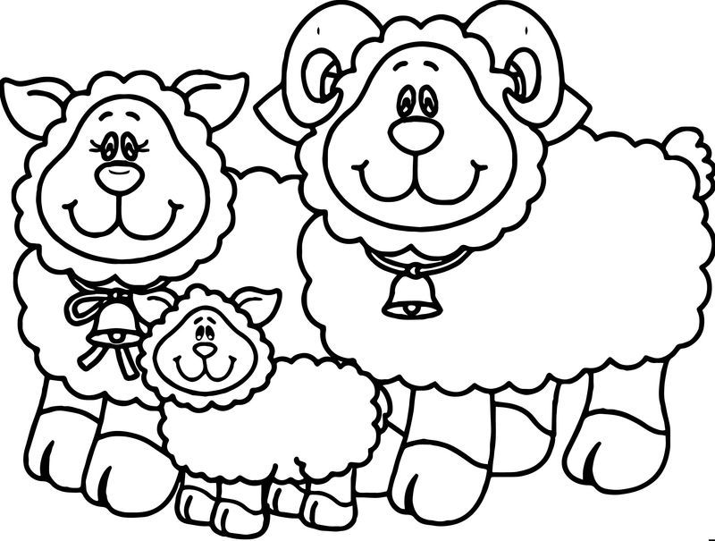 Carson Dellosa Family Sheep Coloring Page. Also see the
