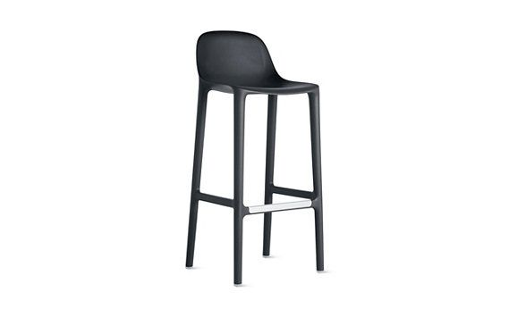 Broom counter stool