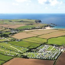 Carnevas Holiday Park, St Merryn, Padstow, Cornwall, UK, England. Campsite. Camping. Travel. Holiday. Family Holiday. Beaches Nearby. Surfing. Cycling. Walking.