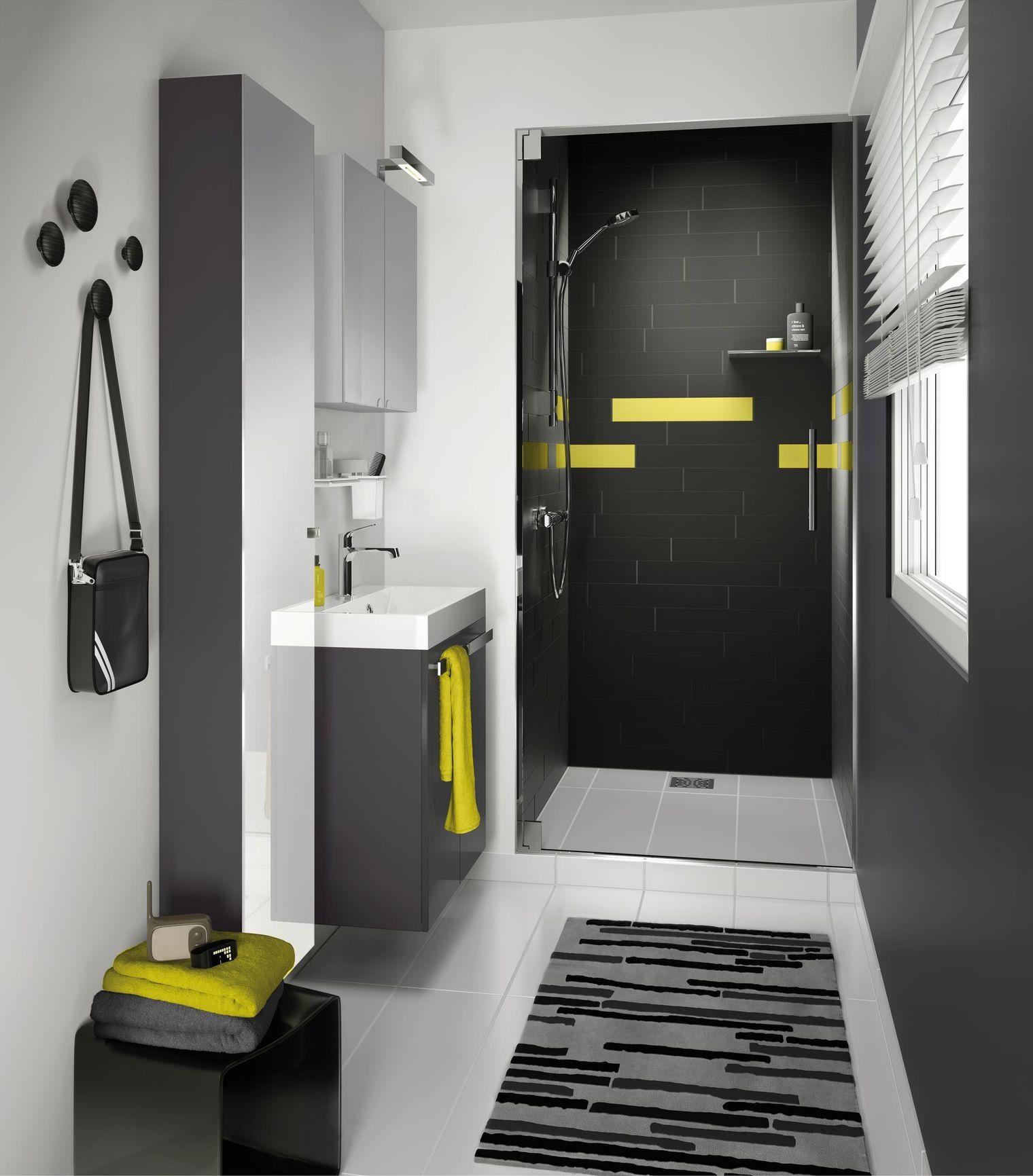 salle de bain 2m2 design maison petite