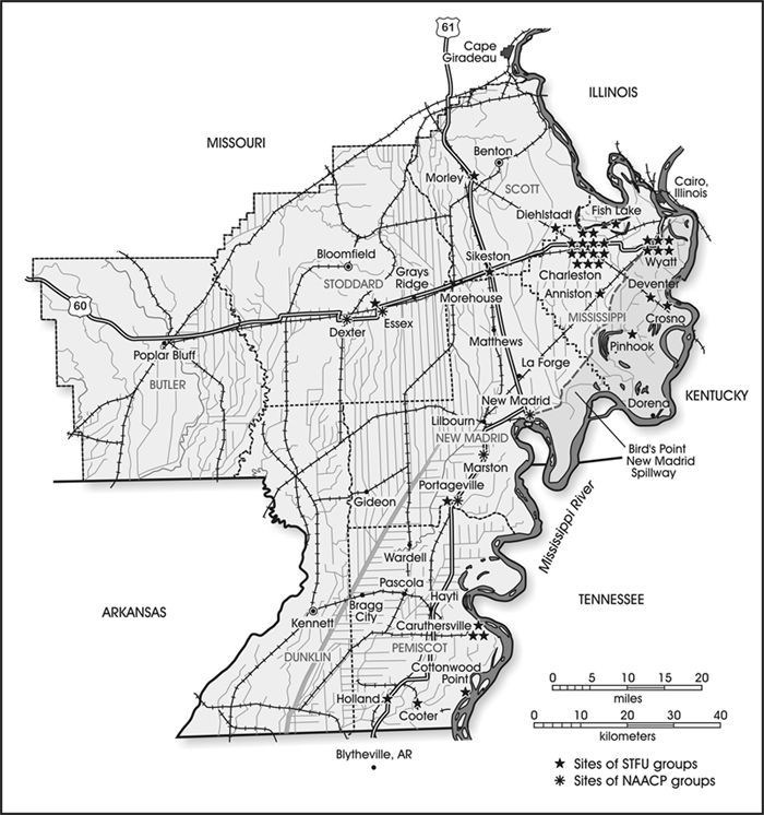 Missouri Bootheel Map US Highways And Kennett MO - Us 60 map