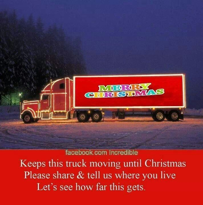 The Christmas Truck With Images Christmas Truck Trucks Truck