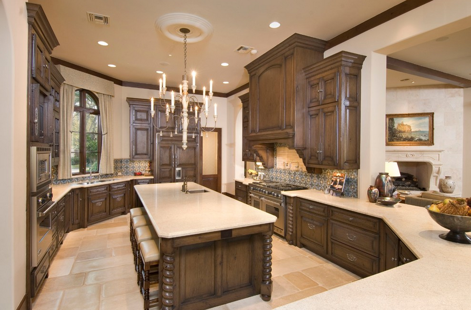 Kitchen luxury interior designs of mansions kitchen for Kitchen design 77070