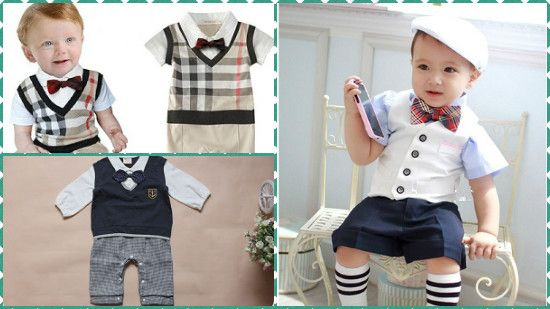 Sophisticated And Stylish This Delightful Set Pairs A Plaid Shirt Inspired Bodysuit With Twill Pants And Removable E Baby Boy Outfits Baby Clothes Boy Outfits
