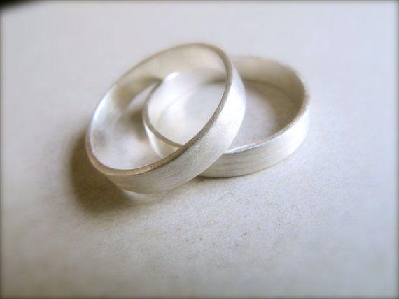 Minimalist Wedding Bands Etsy Minimalist Wedding Wedding Bands Sterling Silver Wedding Band