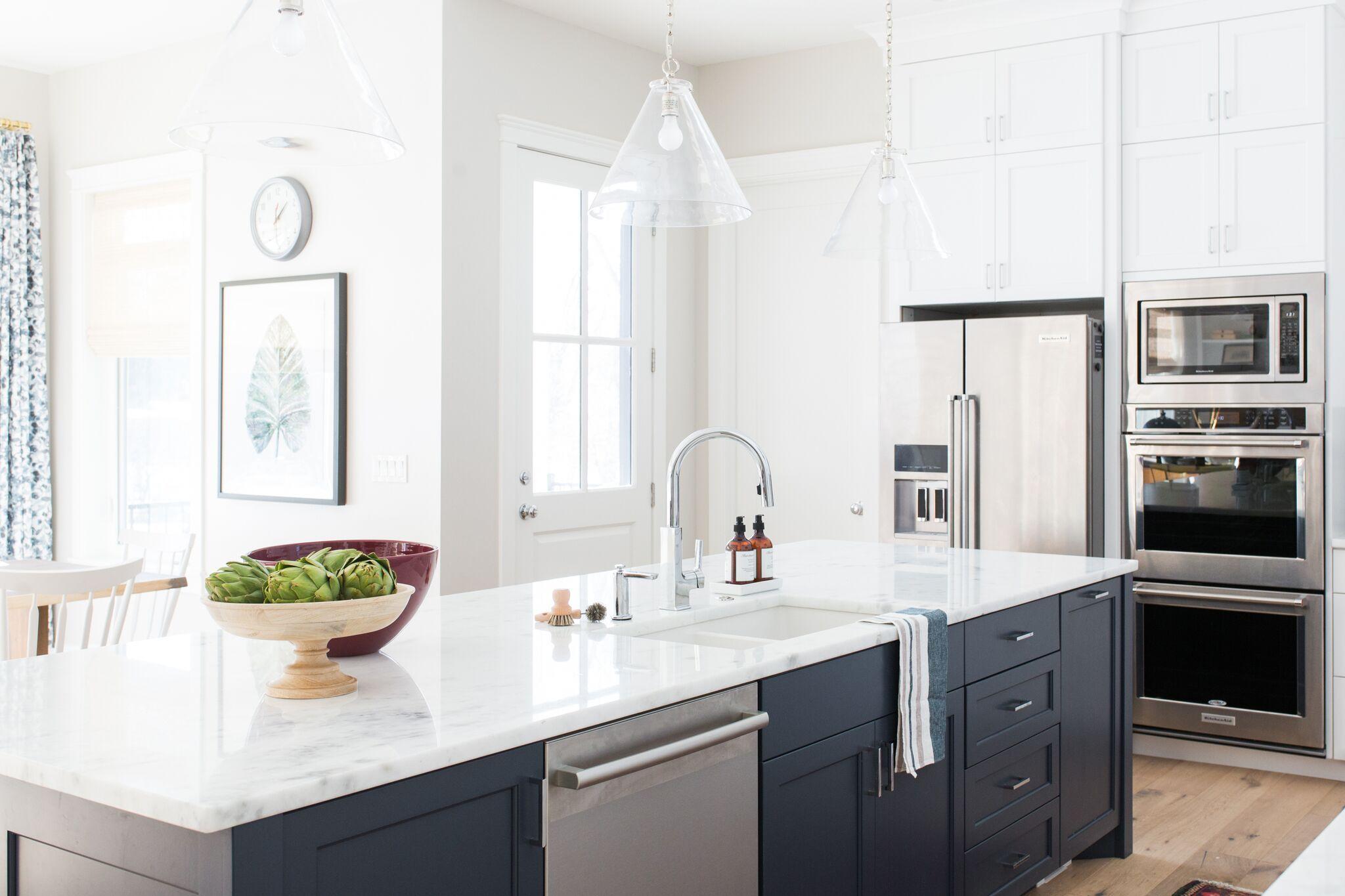 Cove Street Project Reveal Studio kitchen, Studio mcgee