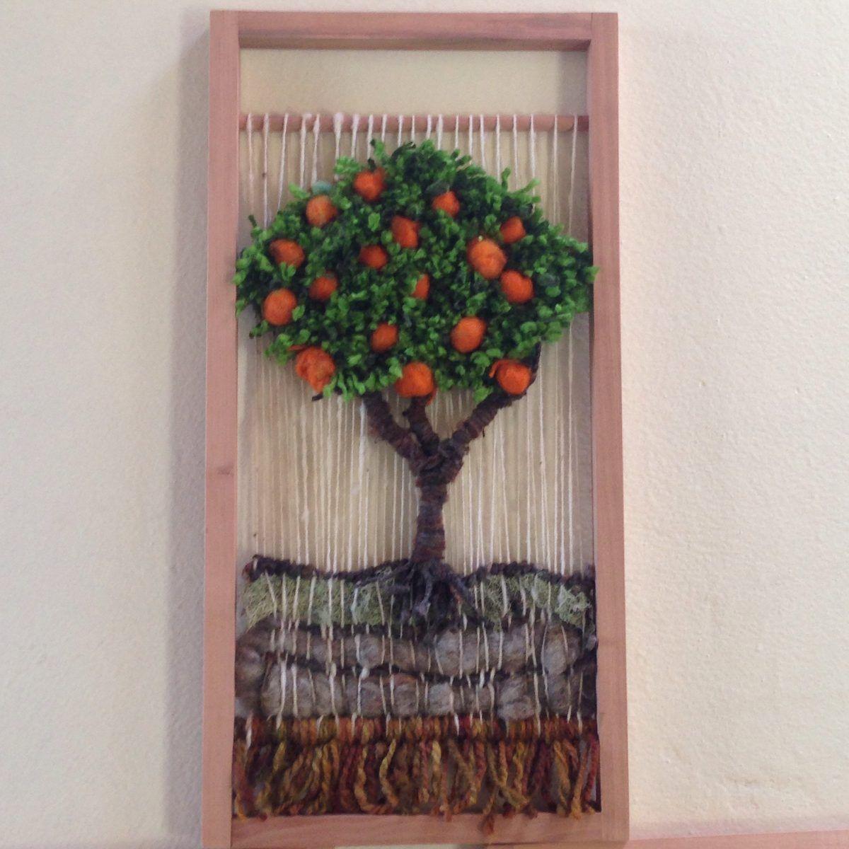 Resultado de imagen para telares decorativos arboles - Cuadros en bastidor ...