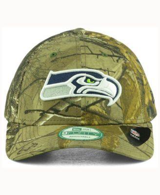 New Era Seattle Seahawks The League Realtree 9FORTY Cap - Green Adjustable a5cb06b17b4b