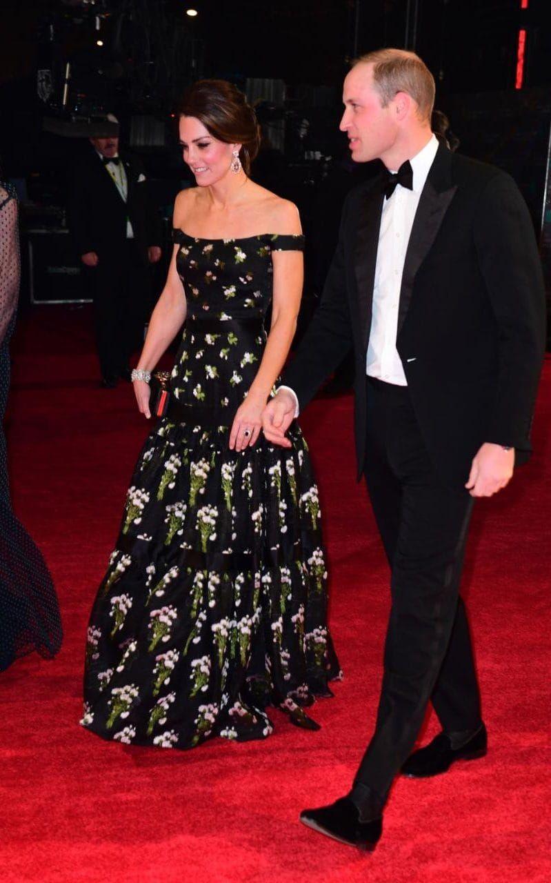 telegraph:  2017 BAFTA Awards, Royal Albert Hall, February 12, 2017-Duke and Duchess of Cambridge