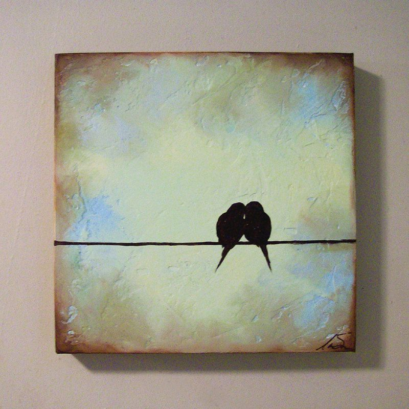 Canvas Painting Ideas Birds