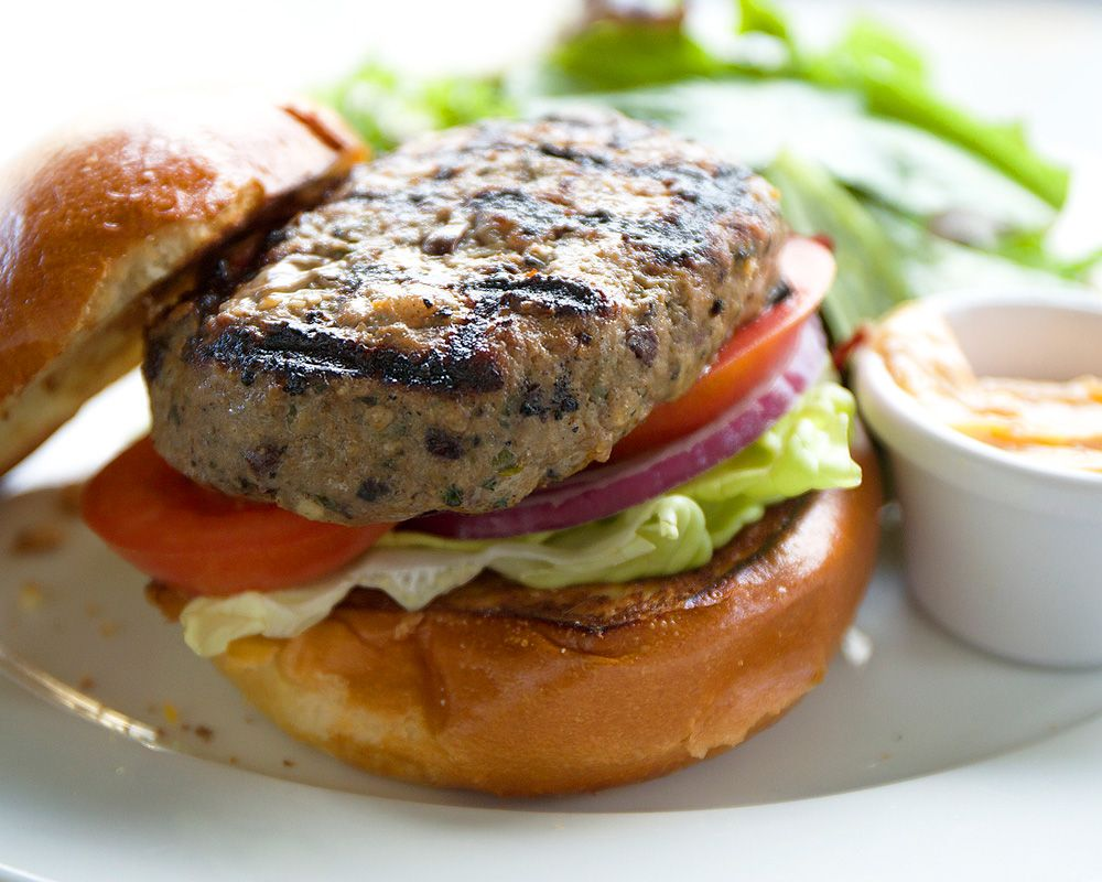 A Delicious Lamb Burger in the Heart of the City