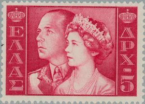 King Paul and Queen Fredericka