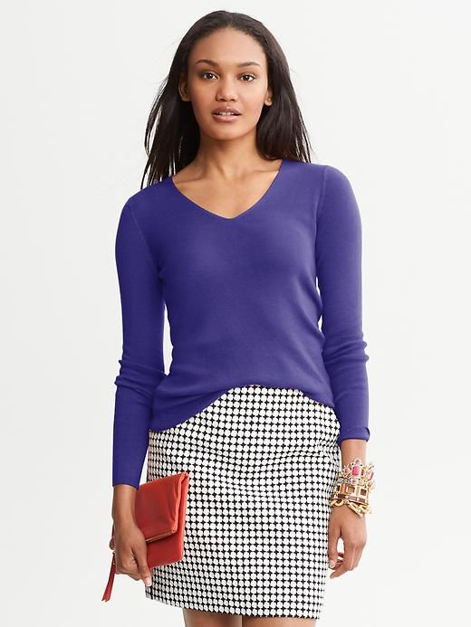 Luxe V-Neck Pullover
