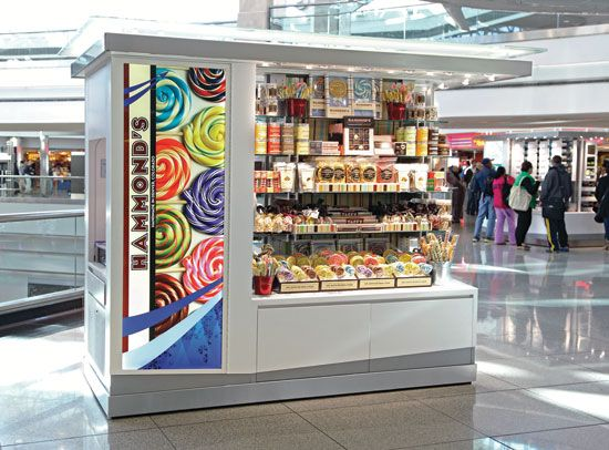 Kiosks Land At Denver Airport Specialty Retail Report