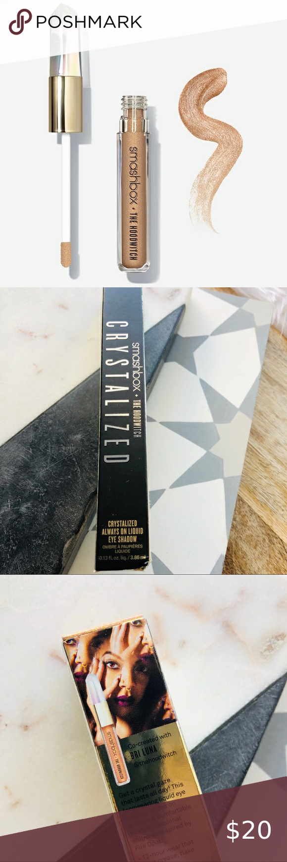 Smashbox Crystalized Always Liquid Eye Shadow In 2020 Skin Wand Eyeshadow Smashbox Makeup
