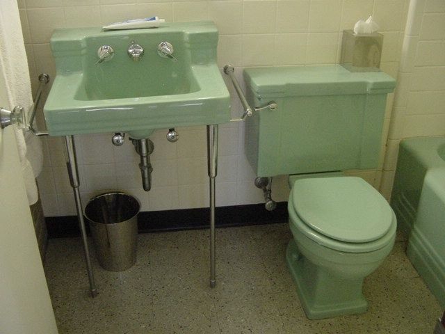 American Standard Ming Green In 2019 Vintage Bathrooms