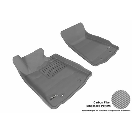 3d Maxpider 2009 2016 Nissan 370z Front Row All Weather Floor