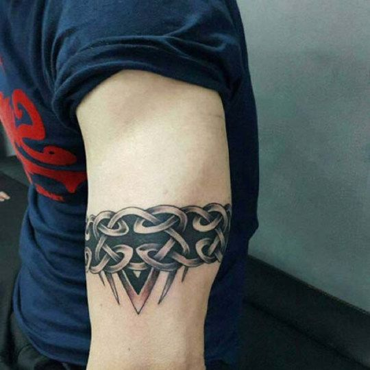 50 Tribal Armband Tattoo Designs For Men Masculine Ink Ideas Tribal Armband Tattoo Armband Tattoo Design Tribal Armband