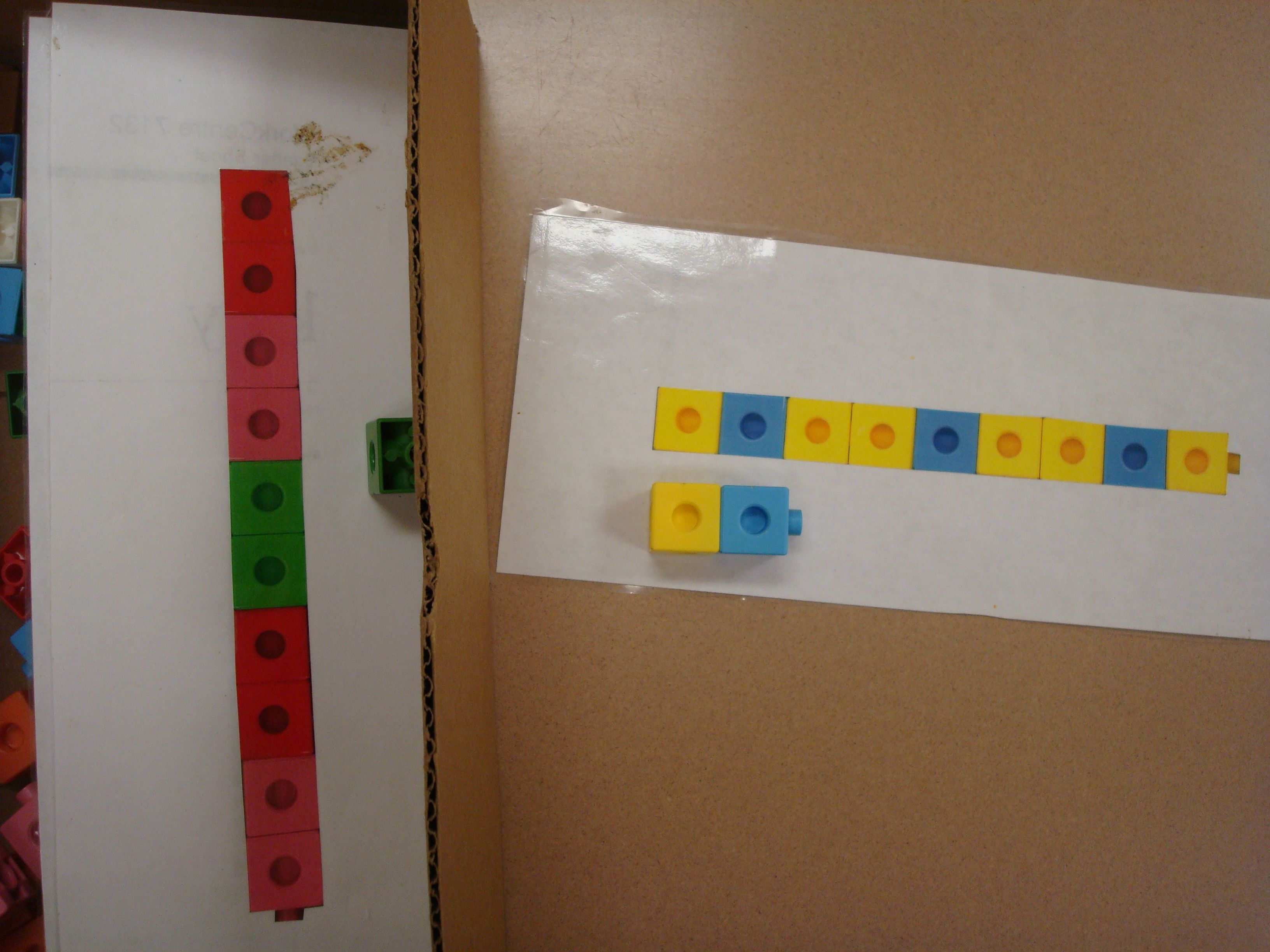 Copy A Pattern Using Linking Cubes