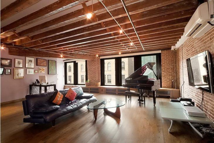 *Дизайн и декор* - Лофт в Нью-Йорке