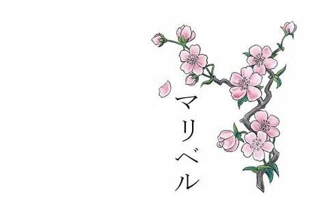 Tatuaje Las Costillas Los Tatuajes Japoneses Flor Cerezo Japones