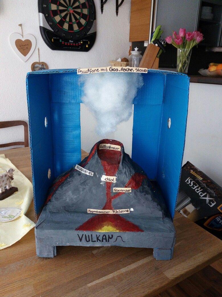 Vulkan basteln 6 Klasse | Vorrat | Pinterest | Vulkan basteln ...