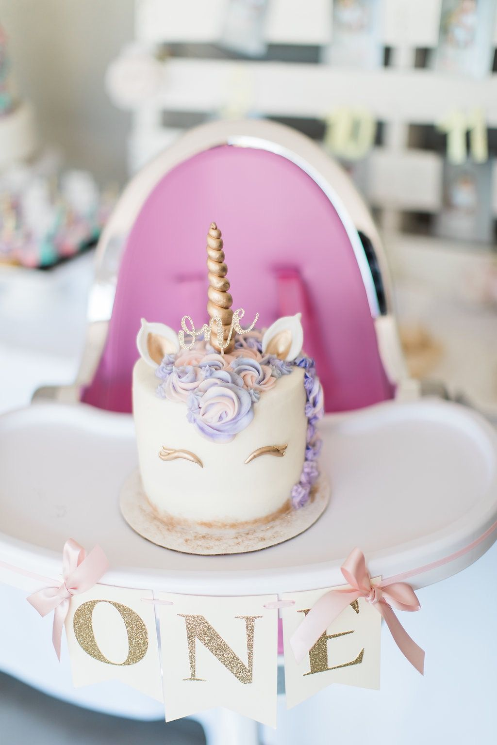 Baby S 1st Birthday Unicorn Birthday With Images First
