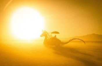 Trey Ratcliff  Aug 31, 2011  Dragon in the Afternoon Sun (Dragon in the Fire)
