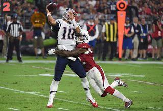 Blog Esportivo do Suíço:  Sem Tom Brady, Patriots vencem  os Cardinals na estreia por 23 a 21