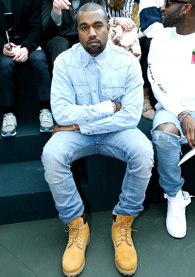 Mr. West   Timberland outfits men, Timberland outfits, Kanye