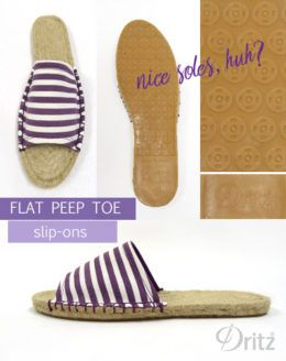 Photo of Dritz Espadrilles: New Sewing Patterns for Peep Toe Flats & Wedges – MakeSomething Blog