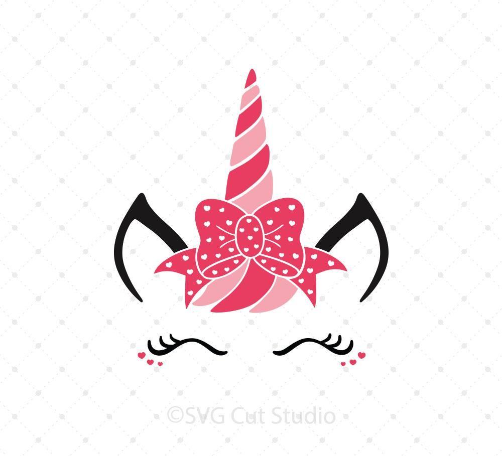 Valentine S Day Unicorn Svg Cut Files Designs By J Pinterest
