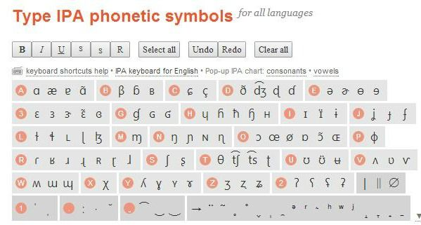 Type IPA phonetic symbols | Therapy activities  | Speech