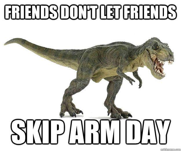 arm day meme - Google Search