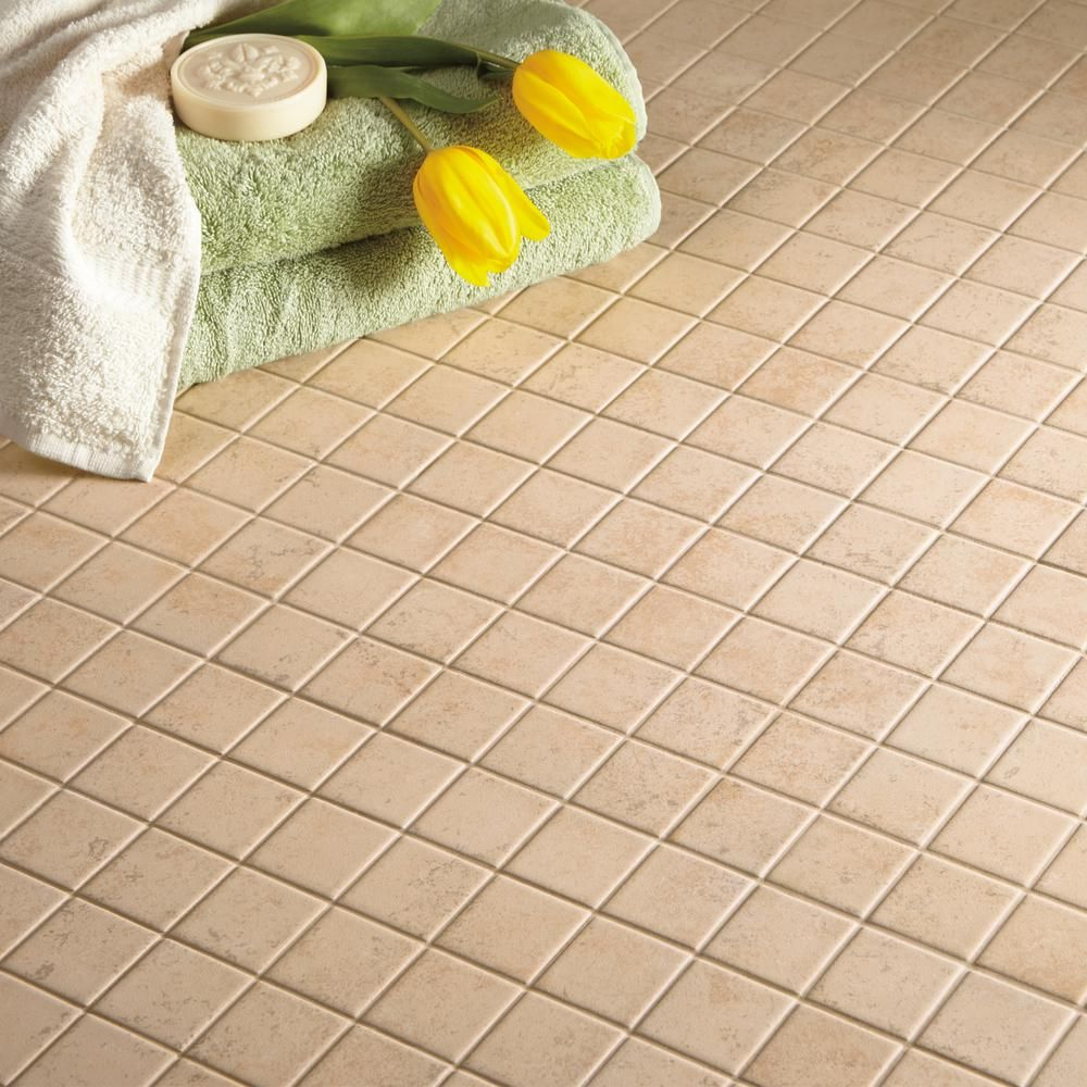 Daltile Briton Bone 12 In X 6 35 Mm Ceramic Mosaic Tile Bt0122hd1p2 The Home Depot
