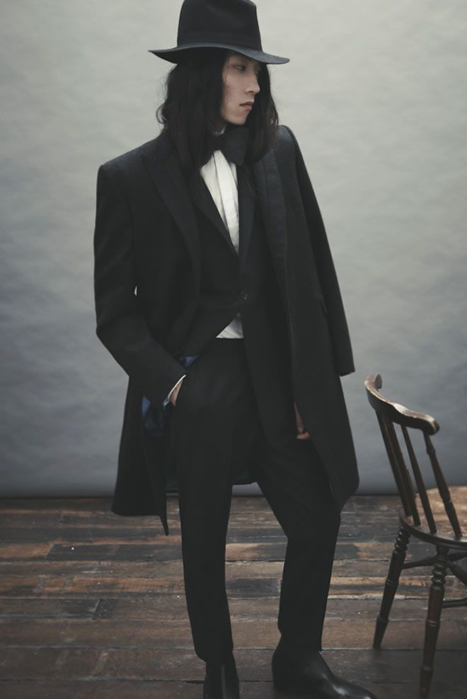 Ozwald Boateng AW12 Collection Lookbook *The hat can go!